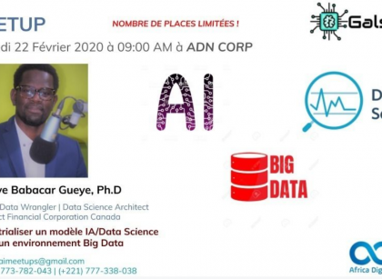 Dakar | Meetup | Industrialisation d'un modèle IA/Data Science | SN |