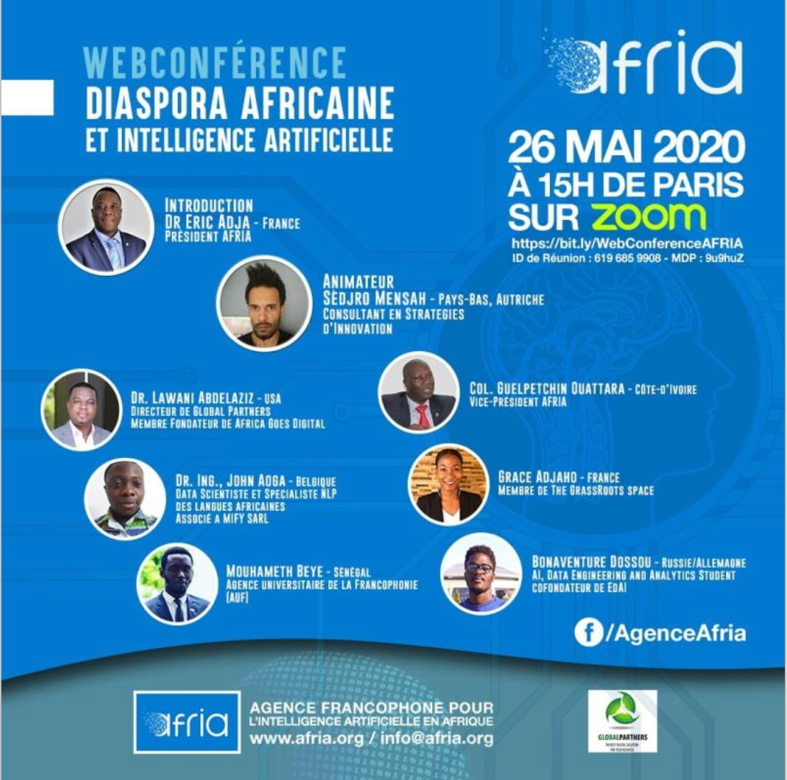 Webconference | Diaspora Africaine et Intelligence Artificielle | FR